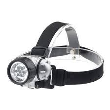 Купить <b>фонарь</b> налобный <b>hl 04m</b> 7led 3ааа 4 режима металлик in ...