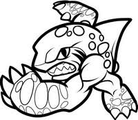 Small Picture Coloring Pages Skylanders Drawing
