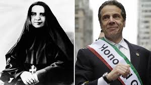 NY Gov. Andrew Cuomo to attend unveiling of Mother Cabrini statue on  Columbus Day in Battery Park City, NYC - ABC7 New York