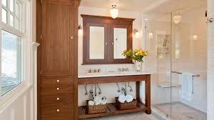 Tall Bathroom Storage Cabinet MHerger Furniture