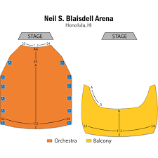 Neal Blaisdell Concert Hall Seating Chart Johnny Mathis Honolulu Tickets Johnny Mathis Neal S