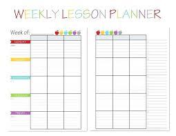 Lesson Plan Printable Template Printable Template For Teachers Lovely Free Teacher Binder Over