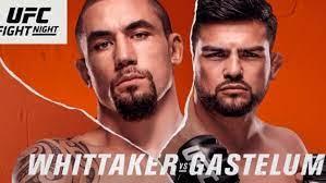 UFC Vegas 24: Whittaker vs Gastelum ...