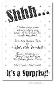 Birthday Party Evites Shhh Black Polka Dot Surprise Party Invitations