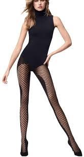 Wolford Gobi Black Sz S Pyramid Pantyhose Hosiery 26 Off Retail