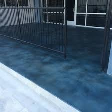 blue stained concrete patio. Delighful Stained Home Blue Stained Concrete Patio Interesting Throughout Floors Cobalt   Driveway Countertops Cobalt Inside S