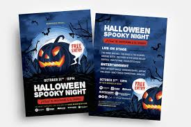 Halloween Flyers Templates Halloween Flyer Templates