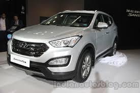 new car launches at auto expo 2014Auto Expo 2014  Hyundai Santa Fe launched at INR 263 lakhs