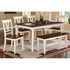 table 4 chairs and bench. dining table + 4 chairs bench f2386/f1343/f1344 and e