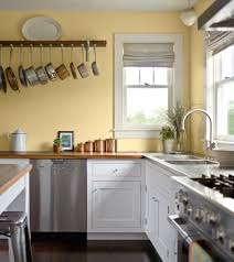 countertop ing guide pale yellow walls wood counter and
