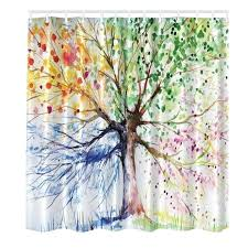 tree of life shower curtain beautiful tree of life fabric colorful shower curtain mildew tree of