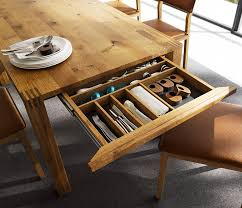 An Uncommon Storage Space: The Dining Table