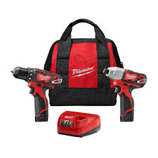milwaukee m12 logo. milwaukee m12 12-volt lithium-ion cordless drill driver/impact driver combo kit logo