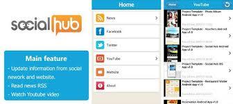 Social Hub Social Hub App Template For Ios