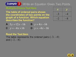 writing equations in slope intercept form if you are not given the slope but you 7 example