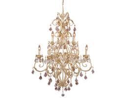 patriot lighting newcastle 9 light gilded white gold chandelier at menards