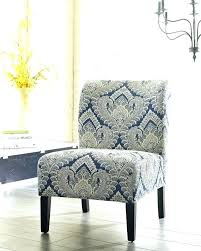 blue and white accent chair chairs with arms large back on black striped best navy acce