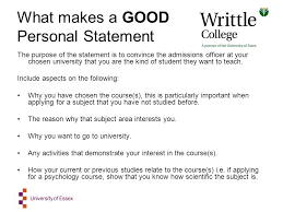 Psychology Personal Statement Example Dissertation Proposal For Mba Finance