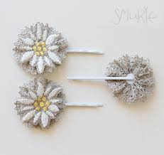 hair pin, <b>vintage</b>, <b>linen</b>, edelweiss, fashion, accessories | Hair pins ...