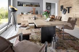Mobili Per Sala Da Pranzo Moderni : Tavolo da pranzo gold in legno massiccio mobile moderno sala