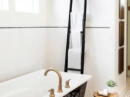 art deco bathroom. Black And White Bathroom With Chic Soaking Tub Art Deco N