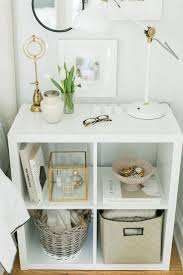 3 Ways to Style and Use Ikea's Kallax (Expedit) Shelf. Zen Bedroom DecorWhite  ...