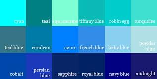 Shades Of Color Blue Chart Navy Blue Color Chart Www Bedowntowndaytona Com