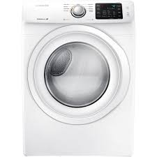 Gas Washers And Dryers Samsung 75 Cu Ft Gas Dryer In White Dv42h5000gw The Home Depot