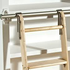 rockler classic satin nickel rolling library ladder hardware intended for plan 12