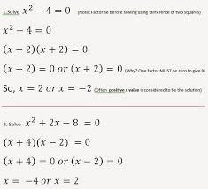 more on solving complex quadratic equations