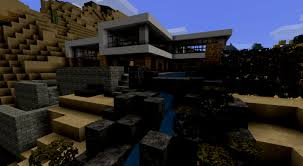 Minecraft Modernes Haus Mittwoch Grau Weiß Bauen Tutorial At Weis