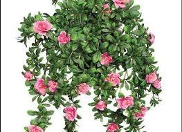 artificial hanging baskets faux flowers artificial