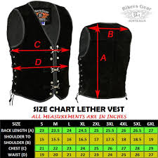 Details About Mens Motorcycle Harley Style Spanish Braid Suede Vest With Clips Size Xs To 6xl
