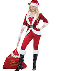 Sassy Santa Womens Costume