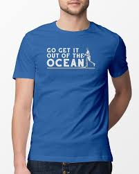 Go Get It Out Of The Ocean T Shirt Funny La Dodgers Baseball Shirts