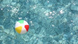 pool water with beach ball. Floating Color Children\u0027s Ball In Waving Water Swimming Pool - HD Stock Video Clip With Beach