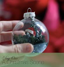 A Glass Ornament Decorated 10 Ways: Christmas Scene | Say Yes to Hoboken