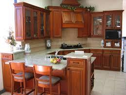 wood kitchen furniture. fantastic design of the wood kitchen cabinets with brown wooden cabinet and white marble top desk furniture a