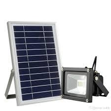 Nature Power Black Outdoor Solar Motion Sensing Security Light Solar Security Flood Light