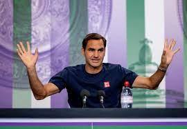 Roger Federer spricht vor Wimbledon zu den Medien - 20 Minuten