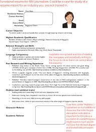 job resume template singapore .