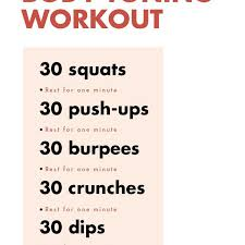 15 minute workout to tone your body fast