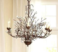 6 arm chandelier in ave home and lighting pottery barn lamp shades