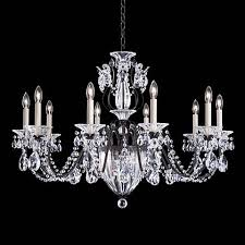 the schonbek bale heirloom bronze 12 light chandelier from lamps plus romantic crystal chandeliers add elegance and style