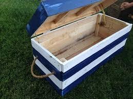 diy ideas for pallet chest storage