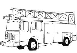 Un Camion Dei Pompieri Disegni Da Stampare Disegni Da Colorare E