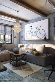 Industrial Living Room Design Cozy Industrial Living Room Design In Grey Tones Digsdigs