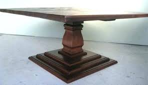 pedestal table base wood popular small sink tables round
