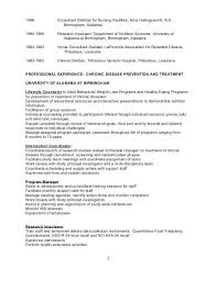 Registered Dietitian Resume Custom Dietitian Resume Template Colbroco