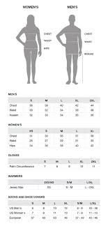 Cycling Jersey Size Chart Size Guide Capo Cycling Apparel